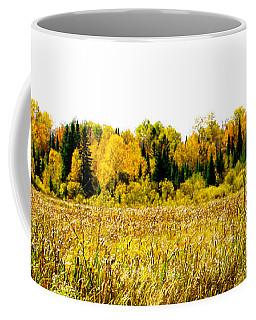 Green Amongst The Gold2 Coffee Mug