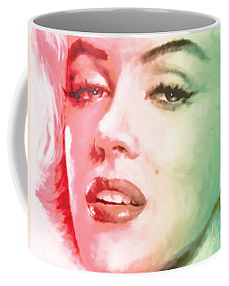 Green And Red Beauty Coffee Mug