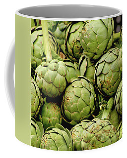 Green Artichokes Coffee Mug