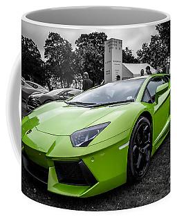 Green Aventador Coffee Mug