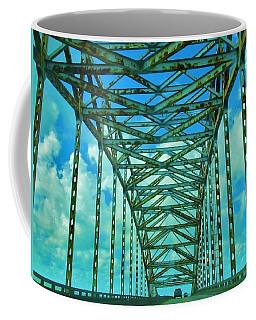 Green Bridge Coffee Mug by Deborah Lacoste
