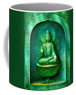Green Buddha Coffee Mug