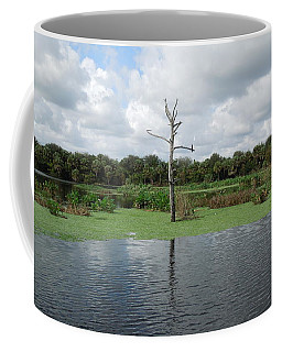 Coffee Mug featuring the photograph Green Cay Panorama by Ron Davidson
