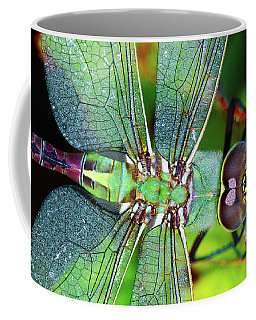 Green Darner Dragonfly Coffee Mug