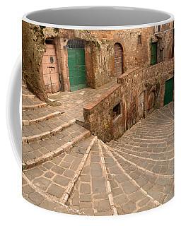 Green Doors Coffee Mug