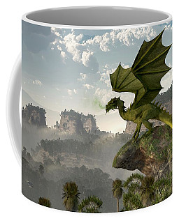 Green Dragon Coffee Mug