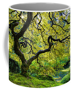 Coffee Mug featuring the photograph Green by Dustin  LeFevre