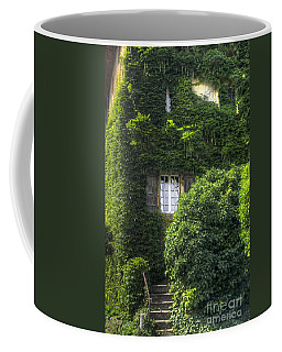 Green Entrance Coffee Mug by Michelle Meenawong