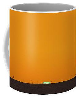 Green Flash Bird Pile Coffee Mug