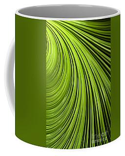 Green Flow Abstract Coffee Mug