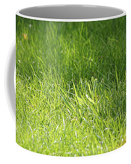 Green Grass Coffee Mug