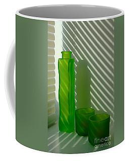 Green Green Glass Coffee Mug