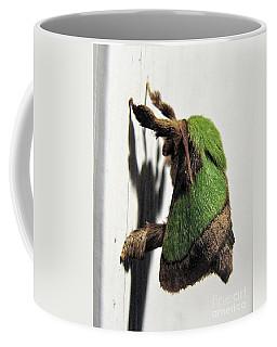 Green Hair Moth Coffee Mug