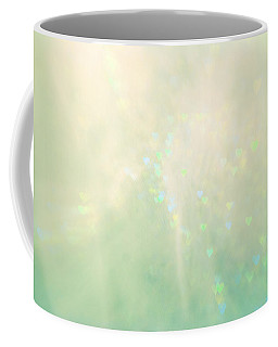 Green Hearts Coffee Mug