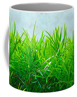 Green Hedge - The Getty Coffee Mug