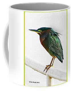 Green Heron In Scottsdale Coffee Mug