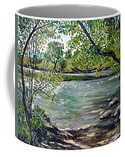 Green Hill Park On The Roanoke River Coffee Mug