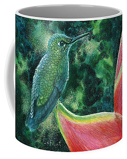 Green Hummingbird Coffee Mug
