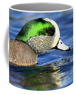 Green Illumination Coffee Mug