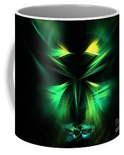 Green Man Coffee Mug by Kim Sy Ok