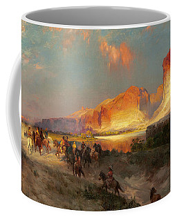 Green River Cliffs Wyoming Coffee Mug