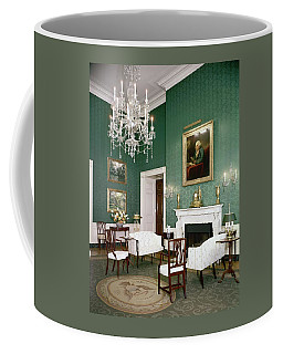 Green Room In The White House Coffee Mug