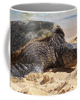 Green Sea Turtle 2 - Kauai Coffee Mug