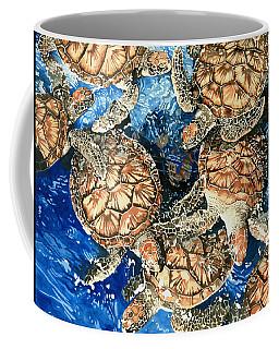 Green Sea Turtles Coffee Mug