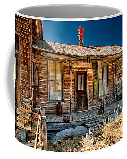Green Shutter Coffee Mug