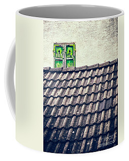 Green Shutters Coffee Mug