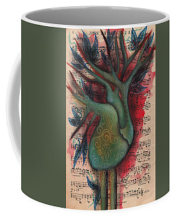 Green Tree Of Life Coffee Mug