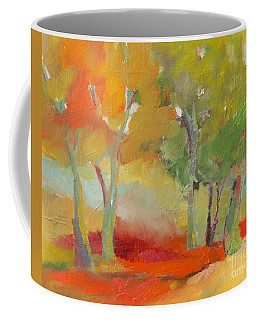 Green Trees Coffee Mug
