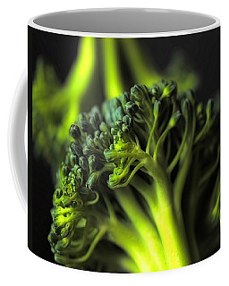 Green Vegetables Coffee Mug by Jenny Hudson