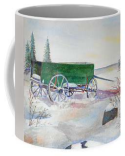 Green Wagon Coffee Mug