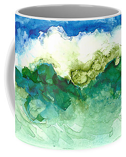 Green Wave Coffee Mug