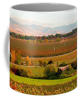 Pastel Skies And Green Pastures - Scenic Southern Oregon Coffee Mug