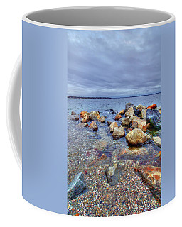 Coffee Mug featuring the photograph Greenwich Bay by Alex Grichenko