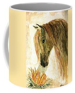 Greeting A Sunflower Coffee Mug