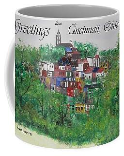 Greetings From Cincinnati Ohio Coffee Mug