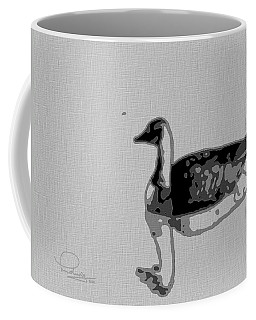 Coffee Mug featuring the photograph Grey Goose by Ludwig Keck