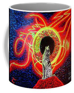 Grey Coffee Mug by Viktor Lazarev