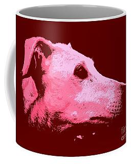 Greyhound Profile Coffee Mug by Clare Bevan