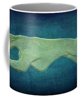 Greyhound Coffee Mug by Sandy Keeton