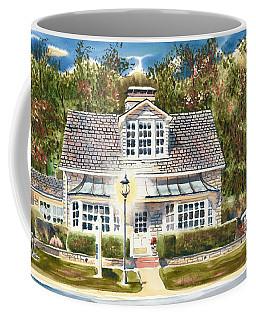 Coffee Mug featuring the painting Greystone Inn II by Kip DeVore