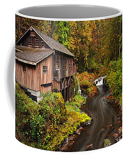 Grist Mill In Autumn Coffee Mug