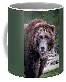 Coffee Mug featuring the photograph Grizzly by Athena Mckinzie
