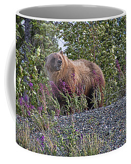 Grizzly Coffee Mug by David Gleeson