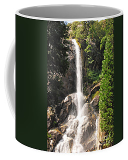 Coffee Mug featuring the photograph Grizzly Falls by Mary Carol Story