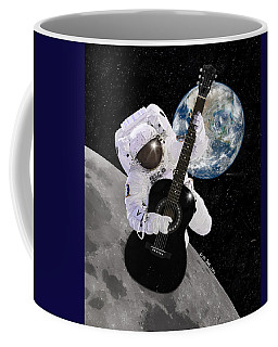Ground Control To Major Tom Coffee Mug by Nikki Marie Smith