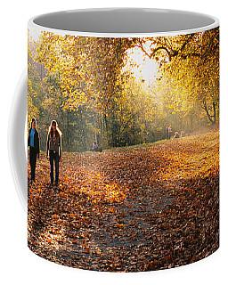 Group Of People In A Park, Tuebingen Coffee Mug